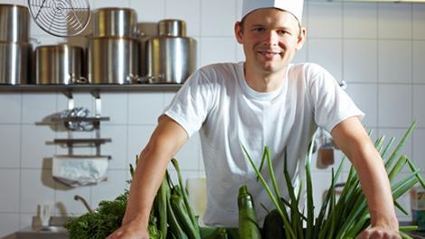 ernährung, gemüse, koch, kochen