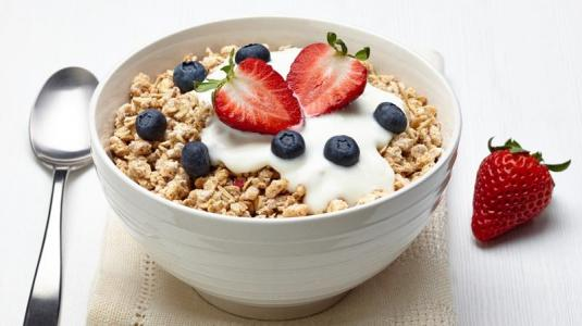 frühstück, müsli