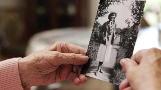 alzheimer, erinnerung, jugendfoto