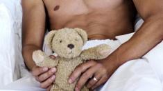 Mann, Teddy, Kind, Unfruchtbarkeit,