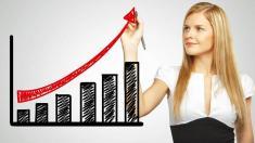Fröhlichen Frauen traut man das Chefsein weniger zu