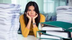 Arbeit, Stress, Überstunden