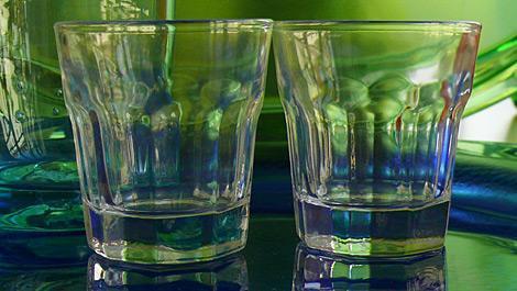 alkohol, gläser