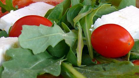 ernährung, gemüse, salat, tomate