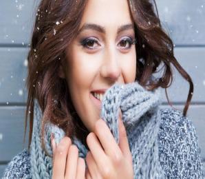 Frau; Winter