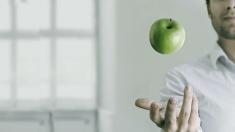 Apfel, Mann