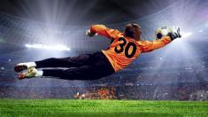 Fußball, Tor, Torhüter