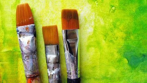 kunst, kunsttherapie, malen, pinsel