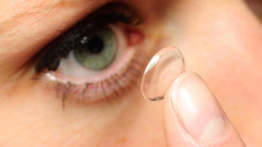 kontaktlinse einf