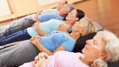 Entspannungstraining für Seniore