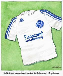 fußball, sponsor