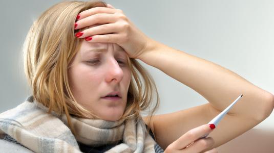 fieber, erkältung, grippe