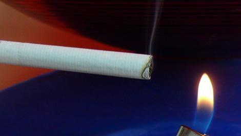 feuer, rauchen, rauchstopp, zigarette
