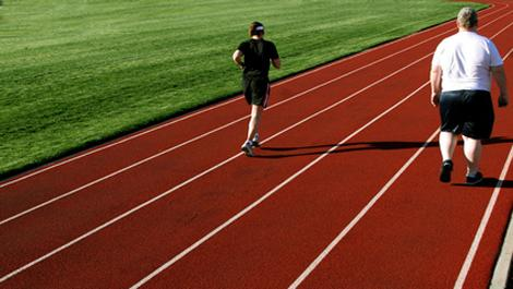 bewegung, dick, fett, sport, übergewicht