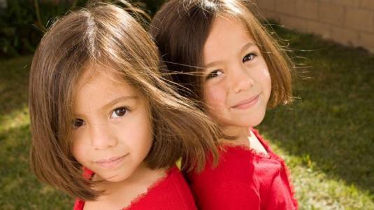eineiige zwillinge sind genetisch gleich, haben aber verschiedene persönlichkeiten