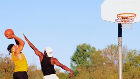 männer, basketball