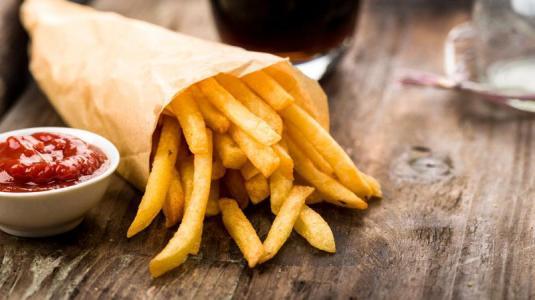 pommes frites, salz