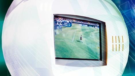 fußball, tv, fernseher