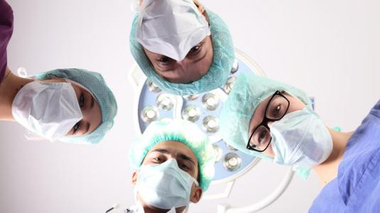 krankenhaus, mediziner, op