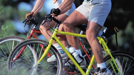 fahrräder, radfahrer