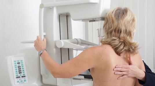 brustkrebs: mammografie