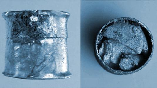 antike tablette für die augen