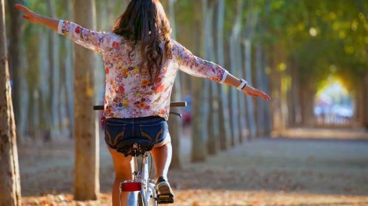 fahrrad, kopfschmerzen, sport