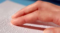 Blindenschrift, Lesen