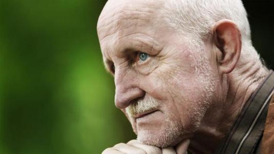 portrait eines seniors