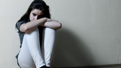 depression, mädchen, traurig