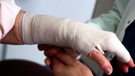 Wunde, Verband, Wundheilung, Wundheilungsstörung, Senioren