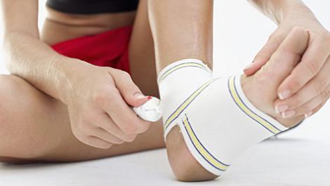 bandage, knöchel