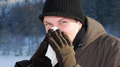 Erkältung im Winter