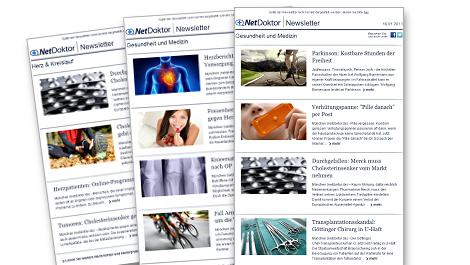Die NetDoktor.de-Newsletter