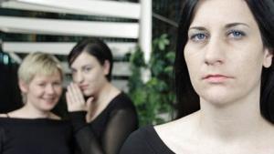 Drei Frauen im Büro