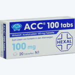 Acc 100 Tabs, HEXAL AG
