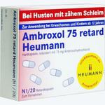 Ambroxol 75 Retard Heumann, Heumann Pharma GmbH & Co. Generica KG