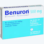 Ben-u-ron 500mg Tabletten, Bene Arzneimittel GmbH