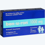 Ben-u-ron 1000mg Zäpfchen, Bene Arzneimittel GmbH