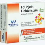 Fol Injekt Lichtenstein, Winthrop Arzneimittel GmbH