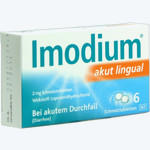Imodium Akut Lingual, Johnson&Johns. GmbH Otc